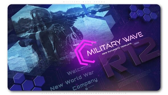 Thumbnail for Military Wave Techno Promo