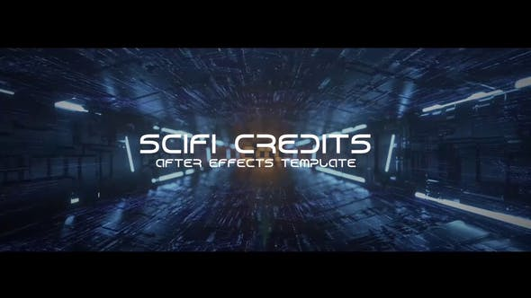 Thumbnail for Sci-fi Tunnel Credits