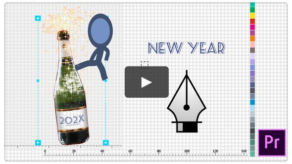 Thumbnail for Happy New Year Greetings - Inkman