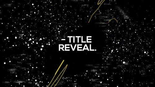 Scribble Grunge Title Reveal