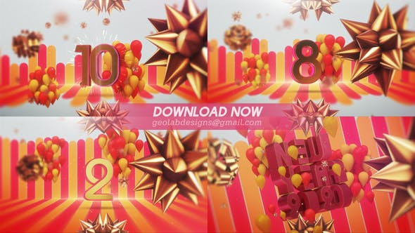 Cover Image for New Year 2020 Countdown l New Year Celebration Template