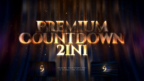Premium Countdown 2in1