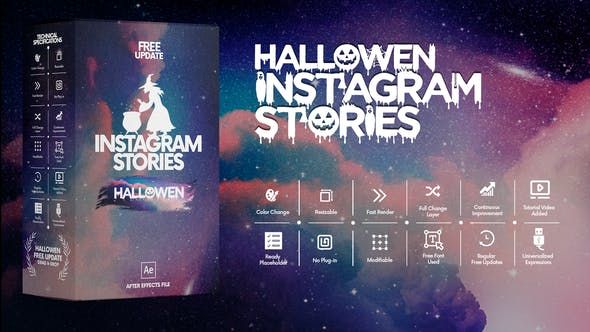 Thumbnail for Histoires Instagram d'Halloween