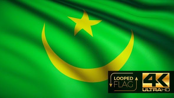 Thumbnail for Mauritania Flag 4K
