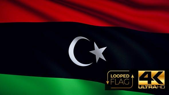 Thumbnail for Libya Flag 4K
