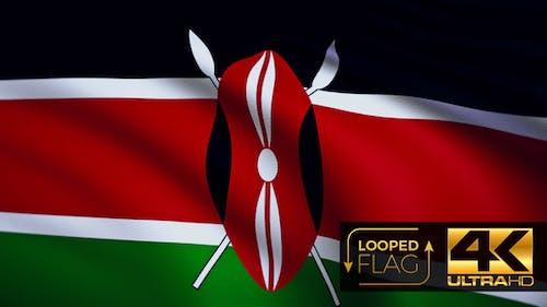 Kenya Flag 4K