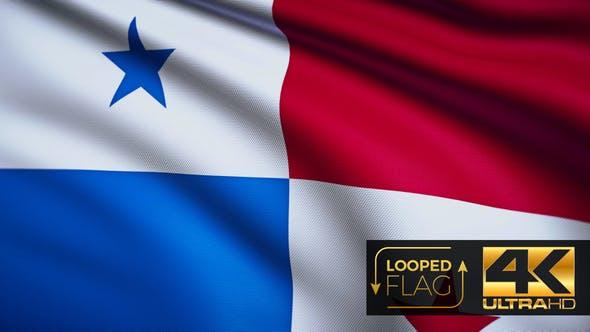 Thumbnail for Panama Flag 4K