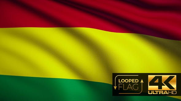 Thumbnail for Bolivia Flag 4K