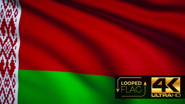 Thumbnail for Belarus Flag 4K