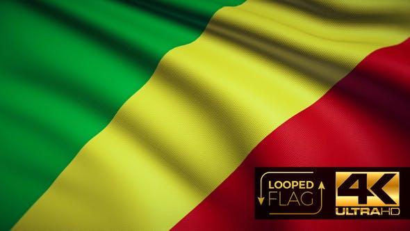 Congo Flag 4K