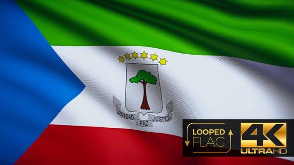 Thumbnail for Equatorial Guinea Flag 4K