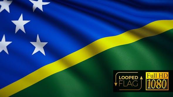 Thumbnail for Salomonen Flagge