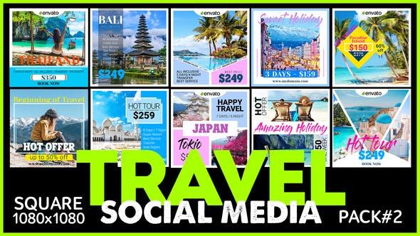 Thumbnail for Social Media Promo - TRAVEL