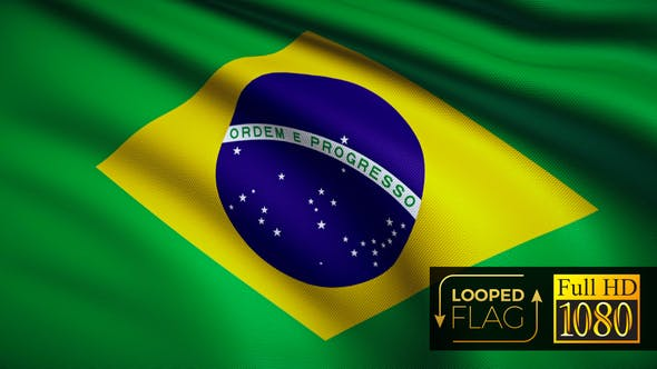 Thumbnail for Brasilien-Flagge