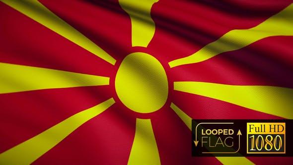 Thumbnail for Mazedonien Flagge