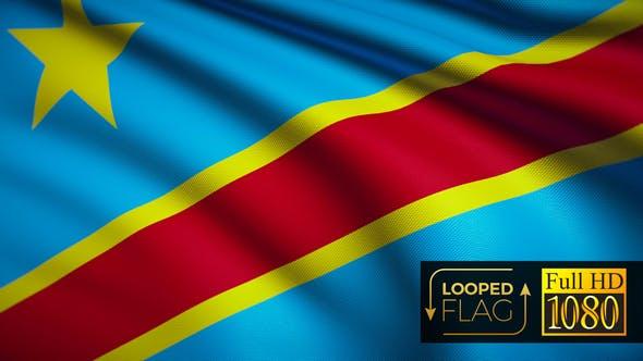 Thumbnail for Democratic Republic of the Congo Flag