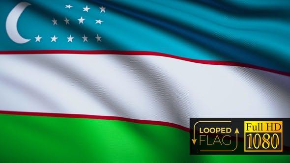Thumbnail for Usbekistan Flagge