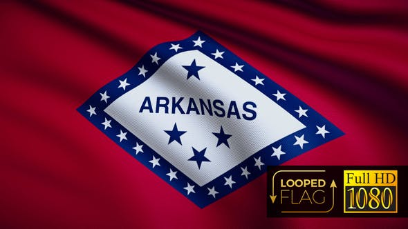 Thumbnail for Arkansas Flag