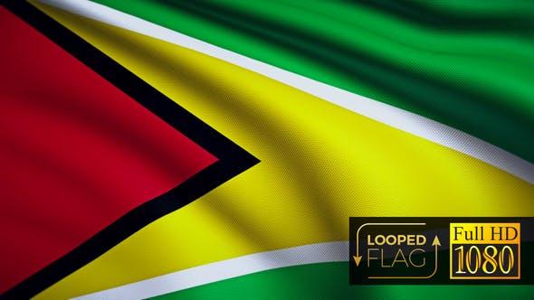 Thumbnail for Guyana Flagge