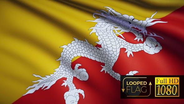 Thumbnail for Bhutan-Flagge