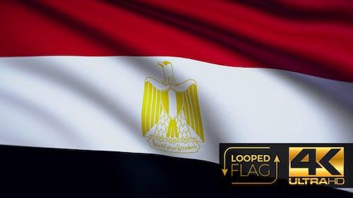 Egypt Flag 4K