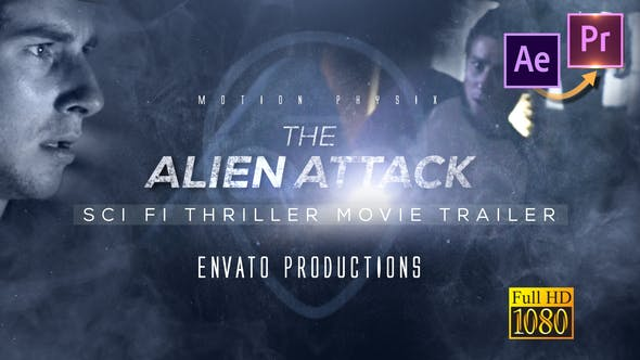 Thumbnail for Scifi Thriller Movie Trailer - Premiere PRO