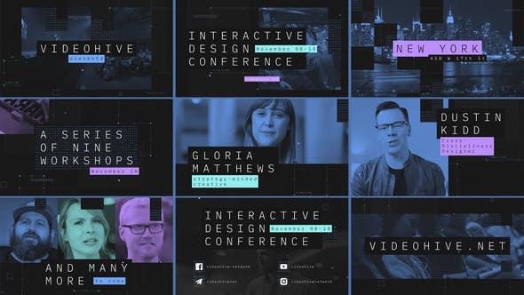 Interactive Design Conference - Event Promo