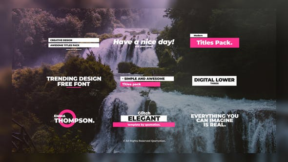 Thumbnail for Modern Digital Titles