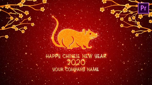 Thumbnail for Chinese New Year Greetings 2020 Premiere