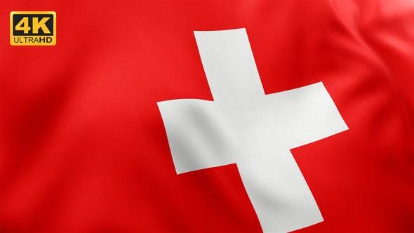 Thumbnail for Flag of Switzerland - 4K