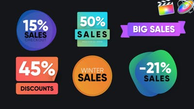 Sales Badges Pack