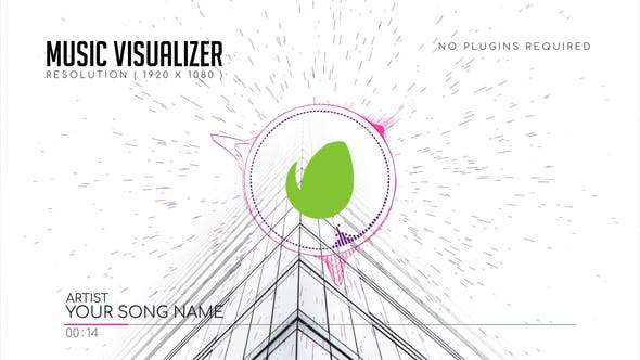 Thumbnail for Visualizador de música