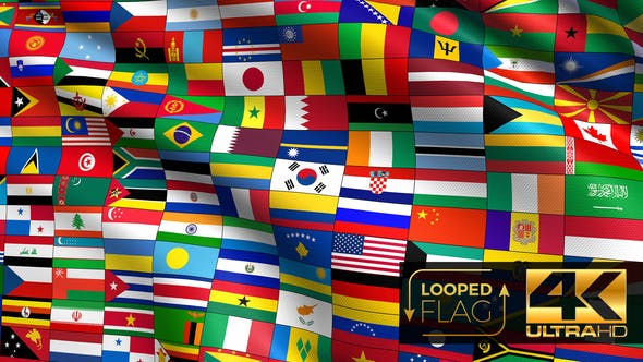 Thumbnail for Flag of Flags 4K
