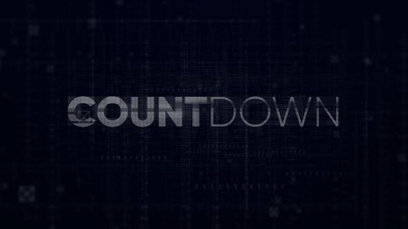 Thumbnail for Countdown - Digital Opener // Premiere Pro