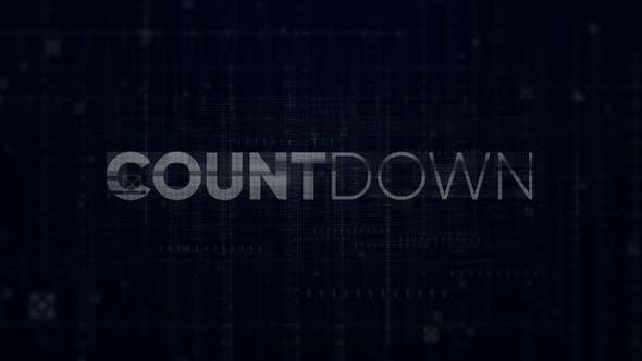 Countdown - Digital Opener // Premiere Pro