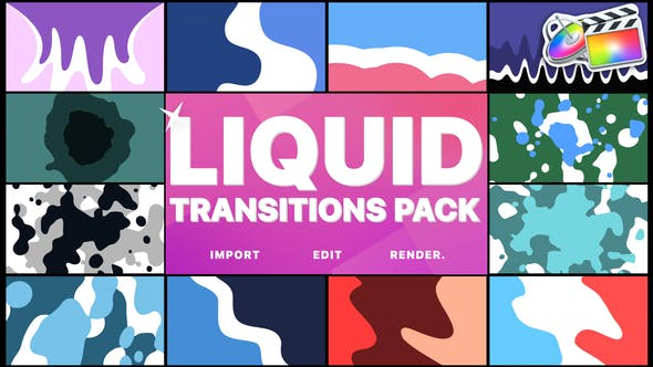 Cover Image for Liquid Motion Transitions | FCPX