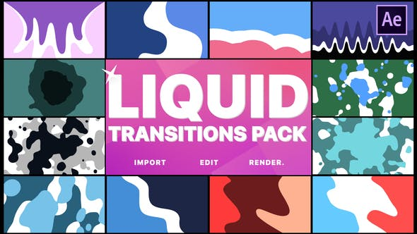 Thumbnail for Liquid Motion Transitions | After Efects