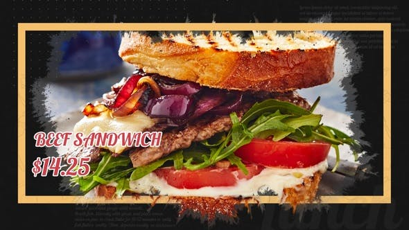 Thumbnail for Delicious Food Promo
