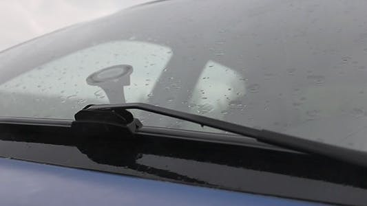 Cover Image for Rain On Car Windshield 2