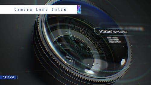 Camera Lens Intro/ Photographer/ Cameraman/ Camerist/ DOF/ 3D Photo/ Freelancer/ Eye Zoom/ Shutter