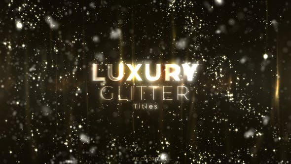 Thumbnail for Luxury Glitter Titles