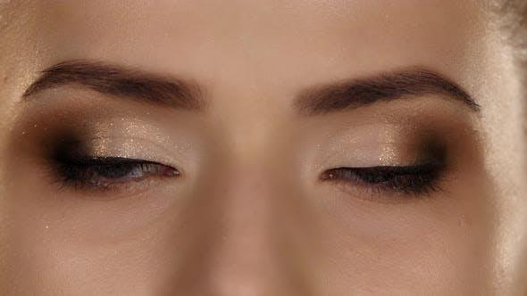 Thumbnail for Makeup. Professional Makeup. Closeup