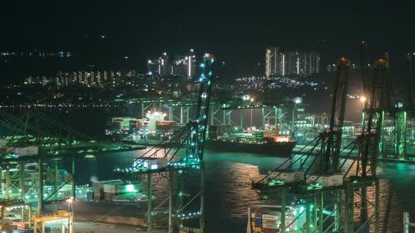 Thumbnail for Cargo Crane In Port