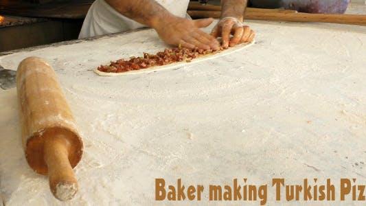 Thumbnail for Baker Making Turkish Pizza