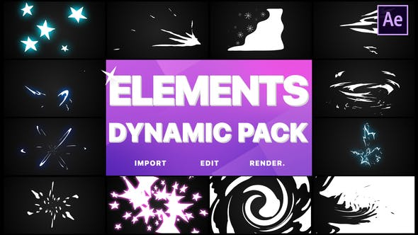 Thumbnail for Dynamic Elements | After Effects