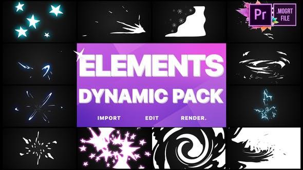Thumbnail for Dynamic Elements | Premiere Pro MOGRT