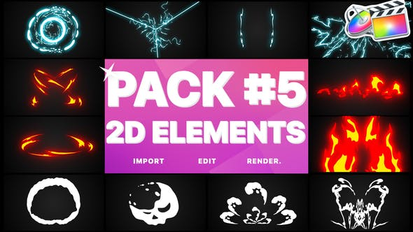 Thumbnail for Elements Pack 05 | FCPX