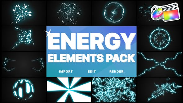 Thumbnail for Energy Elements Pack | FCPX