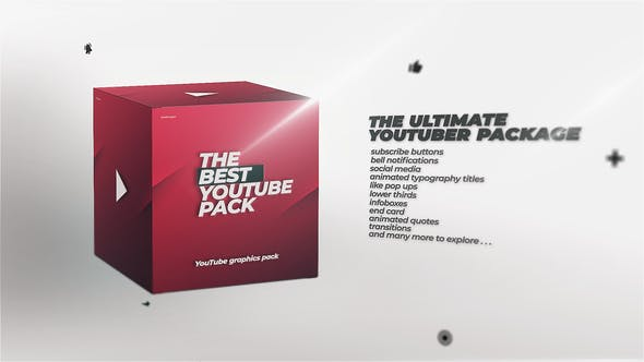 Thumbnail for YouTube Channel Pack - On Air Graphics Library