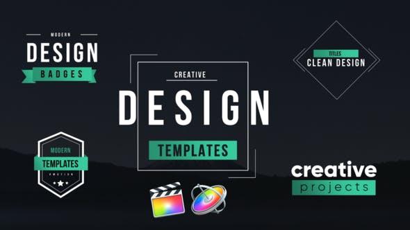 Thumbnail for Unique Motion Titles Pack